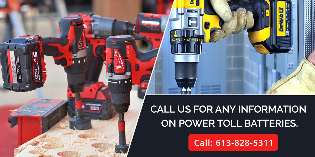 contact for power tool batteries