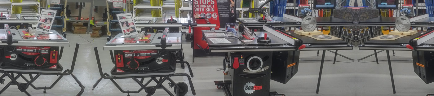 Sawstop - Safest table saw in Ottawa