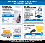 Material handling flyer