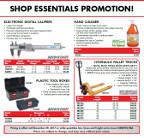 Shop essentials flyer