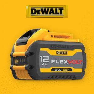 20 Volt vs. 60 Volt DeWalt Batteries