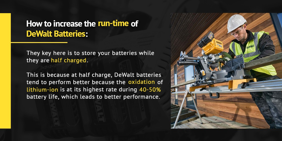 How to increase the run-time of DeWalt Batteries: | Ottawa Fastener Supply