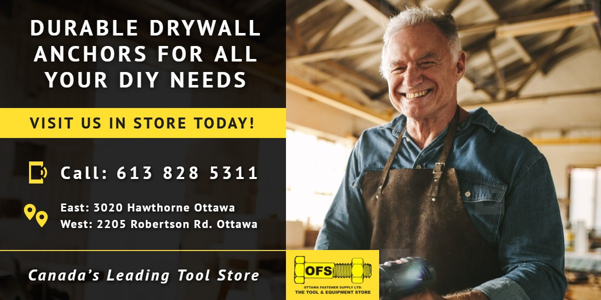 Durable drywall anchors for all your DIY needs | OFS