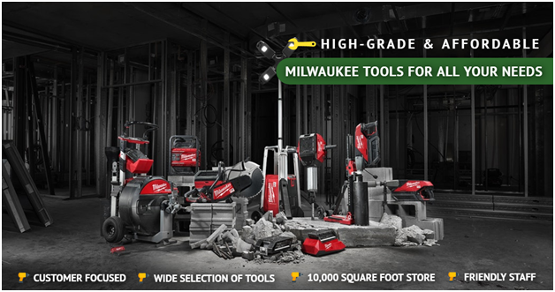 High-grade and affordable Milwaukee Tools for all your needs | Ottawa Fastener Supply