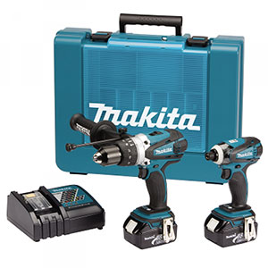 DLX2005T 18v LXT Hammer Drill and Impact Kit