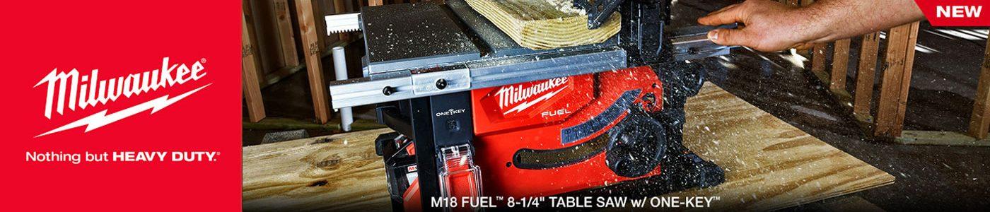 """M18 FUELTM 8-¼"""" TABLE SAW w/ ONE-KEYTM"""