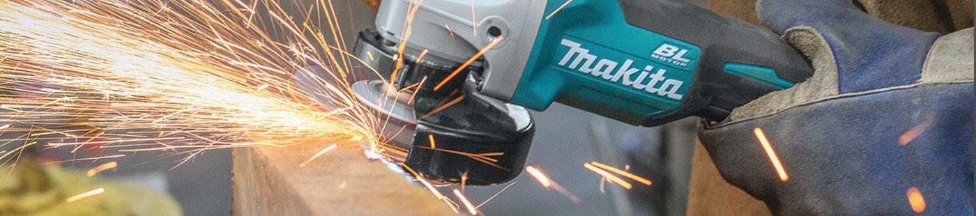 Makita power tool used for polishing