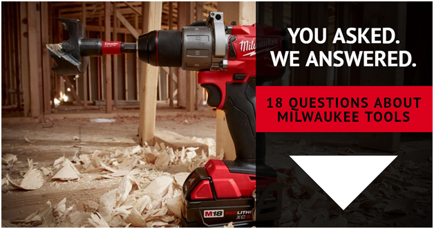 18 questions about Milwaukee Tools | Ottawa Fastener Supply