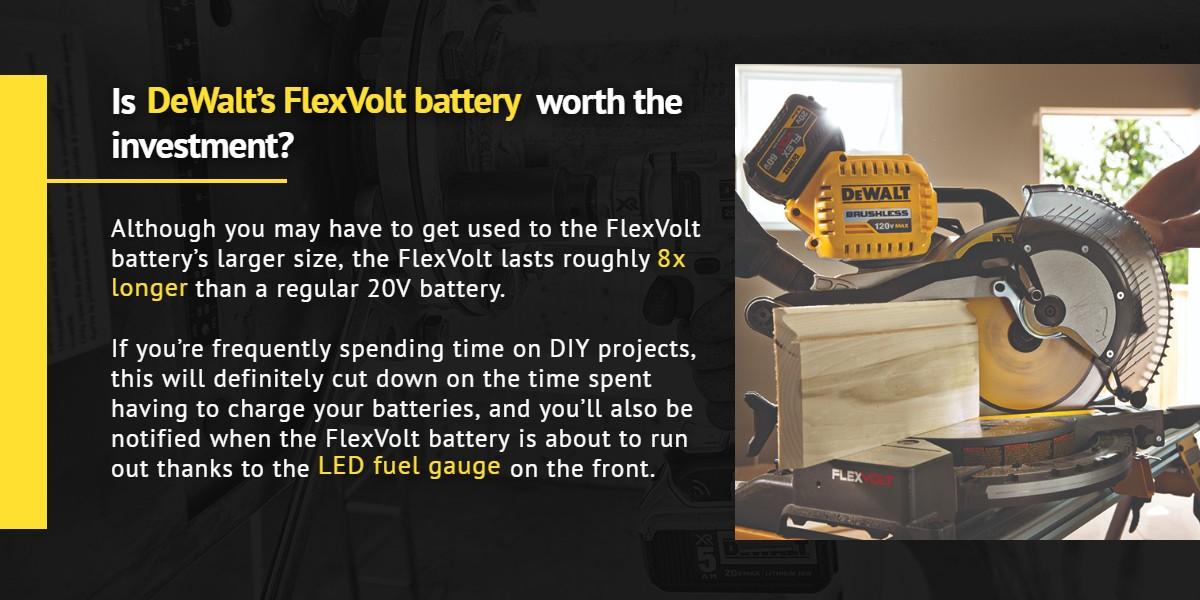 Is DeWalt's FlexVolt battery worth the investment? | Ottawa Fastener Supply