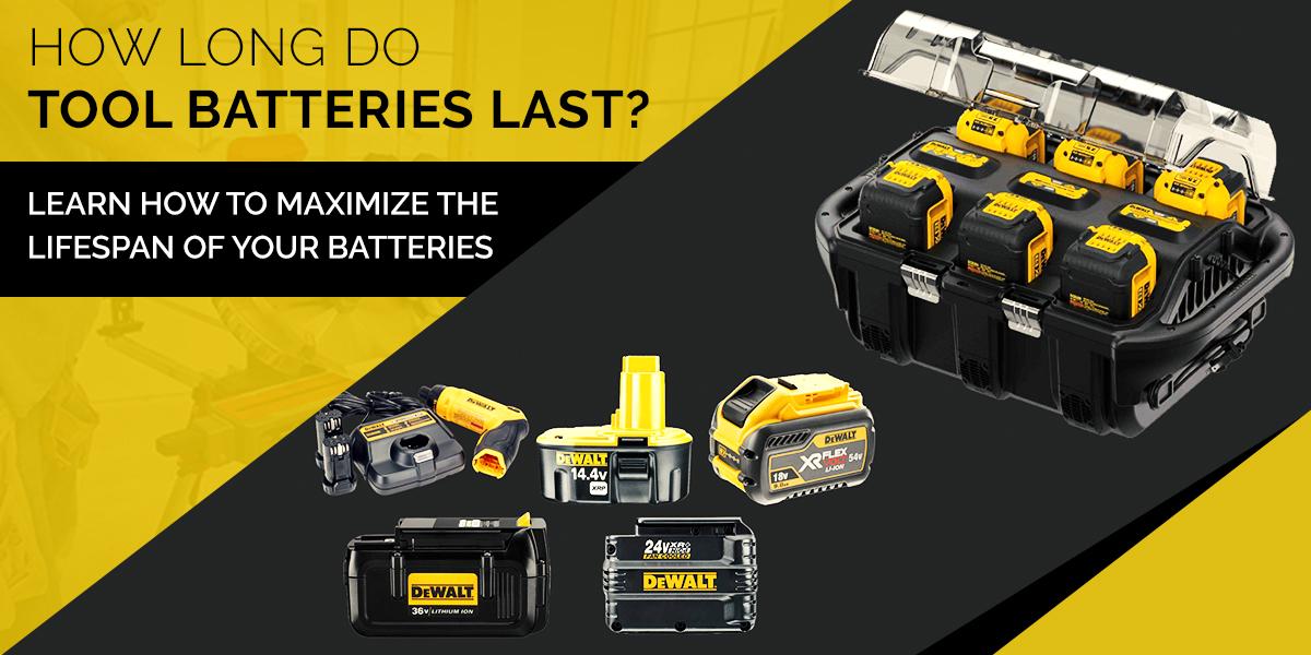 How Long do Tool Batteries Last