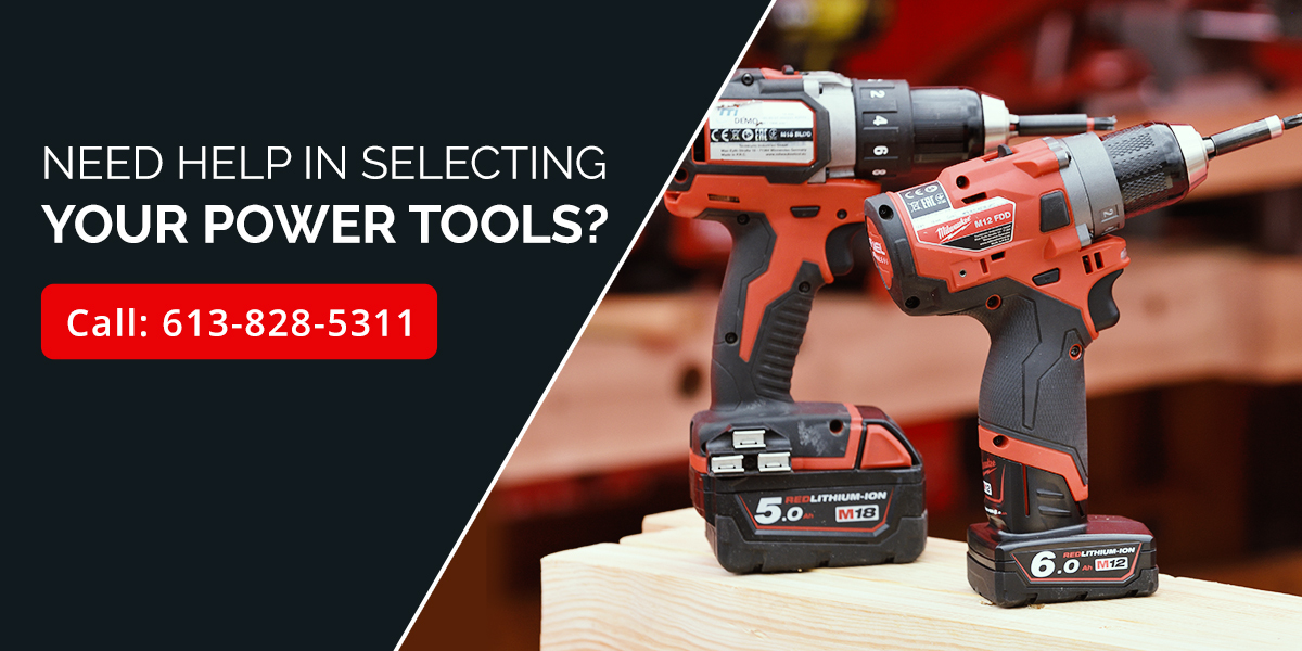 Contact Ottawa Fastner Supply for Power Tool